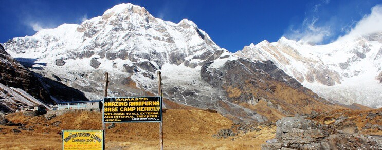 Annapurna Base Camp Trek.