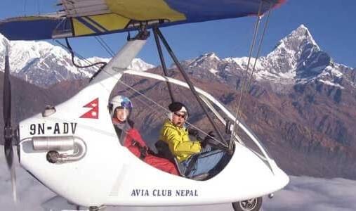 Nepal Ultralight Aircraft Tour